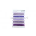 Dekobänder 5er Set violett