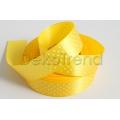 Satinband Gepunktetes 25mm gelb 132
