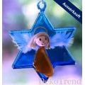 Engelchen Stern - blau