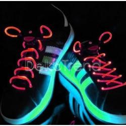 LED-Schnürsenkel rot