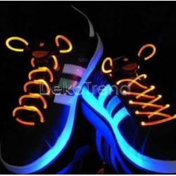 LED-Schnürsenkel orange