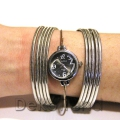 Damen Armbanduhr Silbern