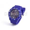 Silikon Armbanduhr Blau