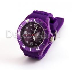 Silikon Armbanduhr Dunkelviolett