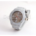 Silikon Armbanduhr Grau
