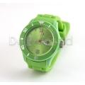 Silikon Armbanduhr Grün