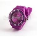 Silikon Armbanduhr Violett