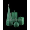 Bemalte Kerzen Grün *