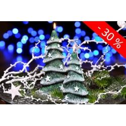 Winterbaum Duft Weihnachtskerzen