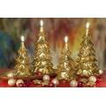 Tannenbaum Golden Weihnachtskerzen