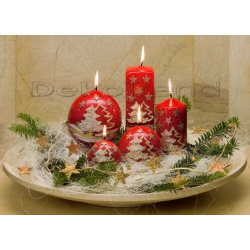 Tannenbaum Weihnachtskerzen
