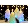 Zapfen LED Weihnachtskerzen