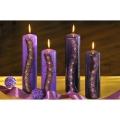 Brillant Steine Deko Kerzen