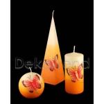 Schmetterling Deko Kerzen