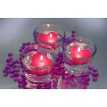 Valentinstag Special: Wasserperlen mit Schwimmkerzen
