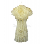 Blumenstrauss Rosen LED Kerzen