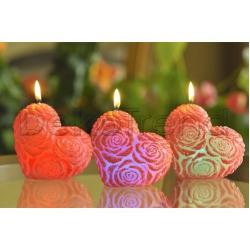 Herz LED Kerzen
