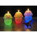 Schmetterlinge Lämpchen LED Kerzen