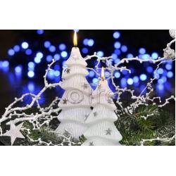 Winterbaum LED Kerzen