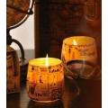 Kerzen im Glas