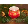 Weihnachtsguetzli Kerzen im Glas