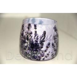 Lavendel Duft Kerzen im Glas